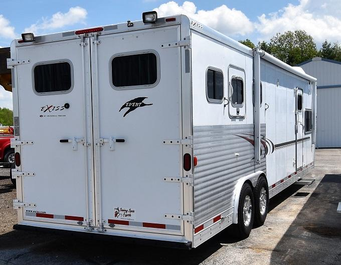 2005 Exiss Trailers XT314 Horse Trailer