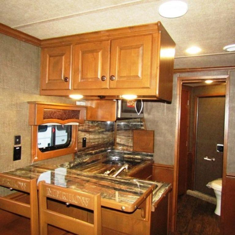 2019 Merhow 8414 Horse Trailer w/ Rear Kitchen