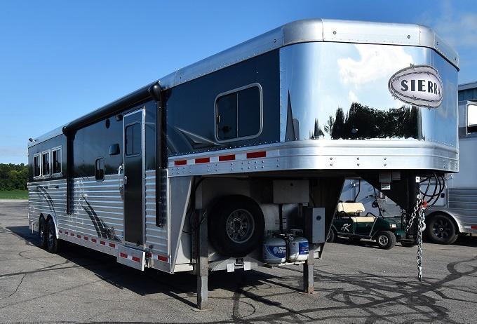 2016 Sierra 8313 w/Custom Full Rear Tack Horse Trailer