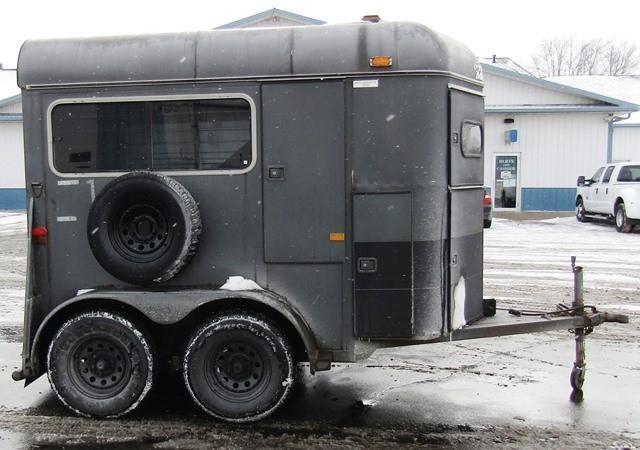 Bumperpull Horse Trailers | KERLIN TRAILERS | Horse Trailer and ...