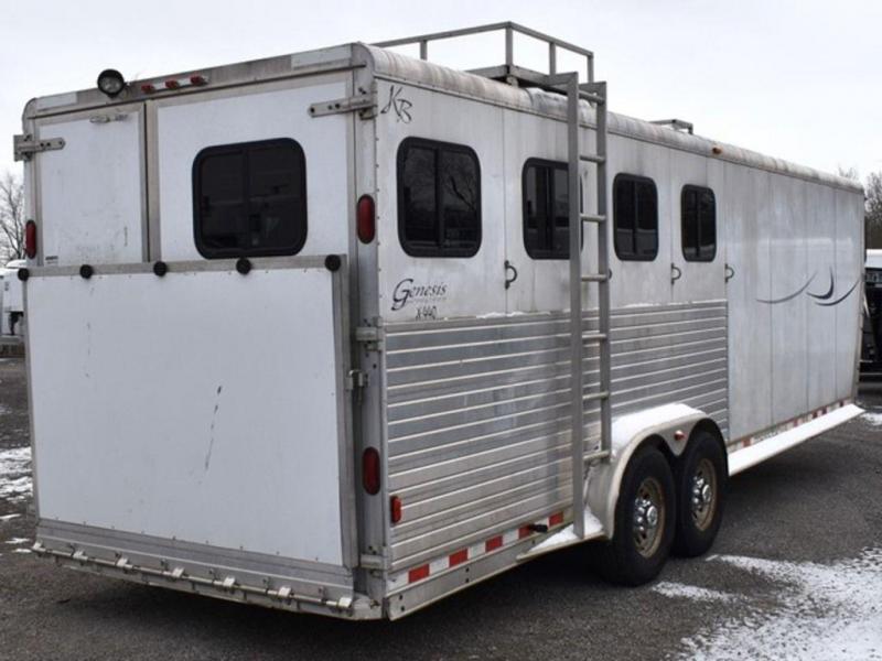 2002 Kiefer Built Genesis X440 Horse Trailer