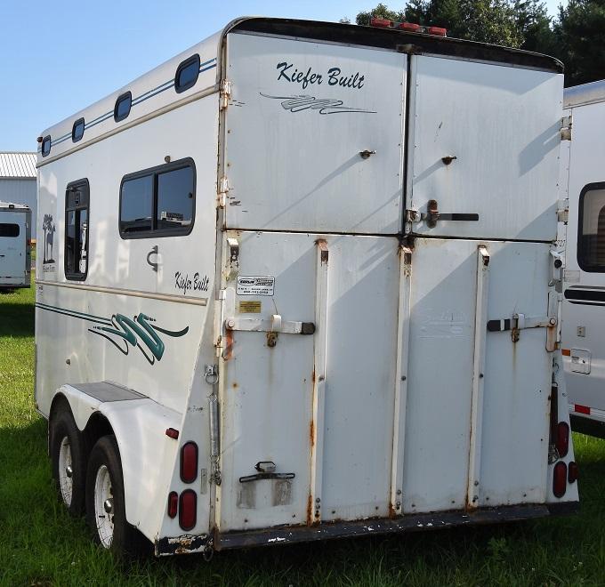 1999 Keifer Built American Eagle Warmblood Horse Trailer