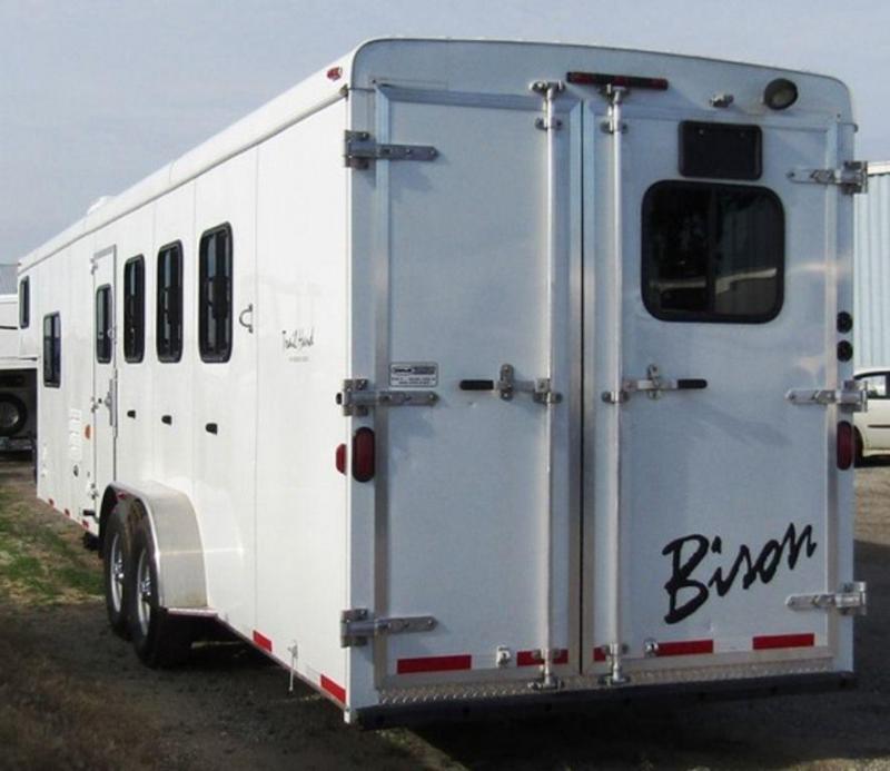 2014 Bison 7410 Trail Hand Horse Trailer