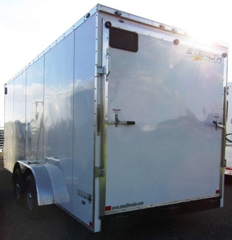 2019 Stealth Titan 7 X 18 Enclosed Cargo Trailer