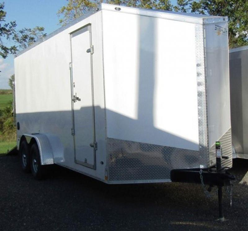 2019 Stealth Titan 7 X 18 Enclosed Cargo Trailer