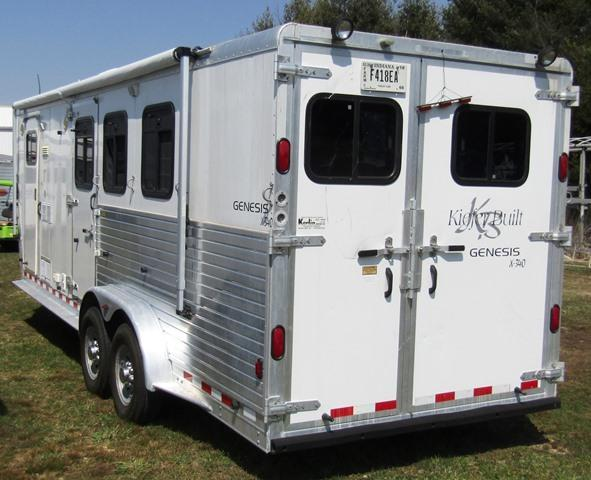 2002 Kiefer Manufacturing Genesis 340 Horse Trailer