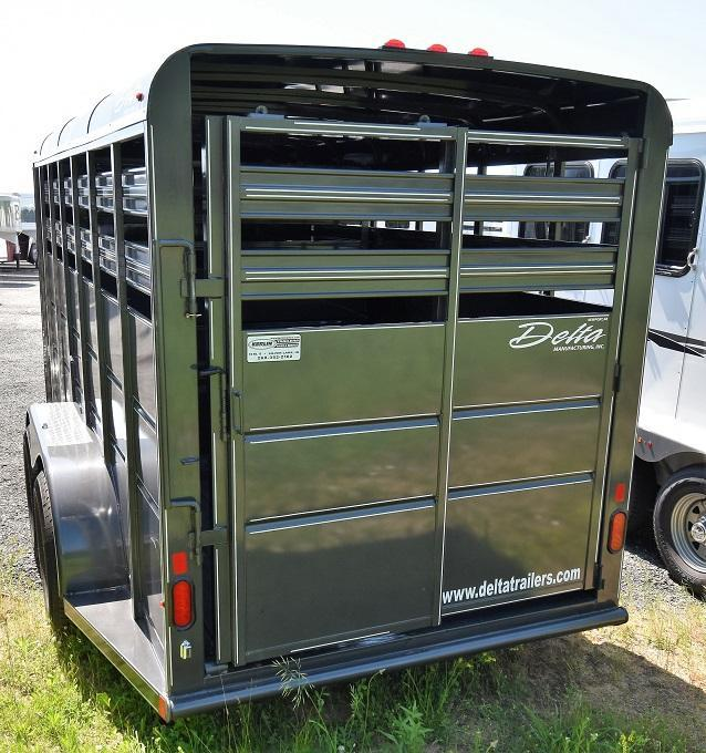 2019 Delta Manufacturing 500 Series stock Livestock Trailer
