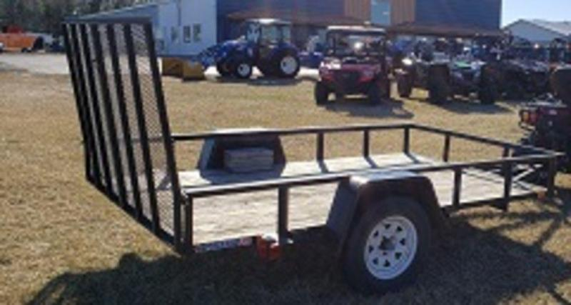 2008 Forest River 6.5 X 10 Utility Utility Trailer