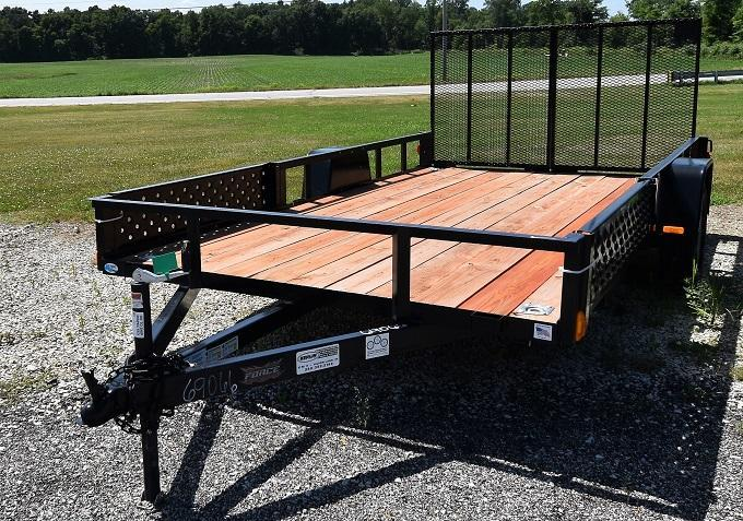 2020 Forest River Force USAG6514 ATV Prep Utility Trailer