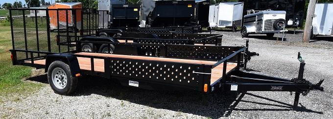 2020 Forest River Force USAG6514 ATV Prep Utility Trailer