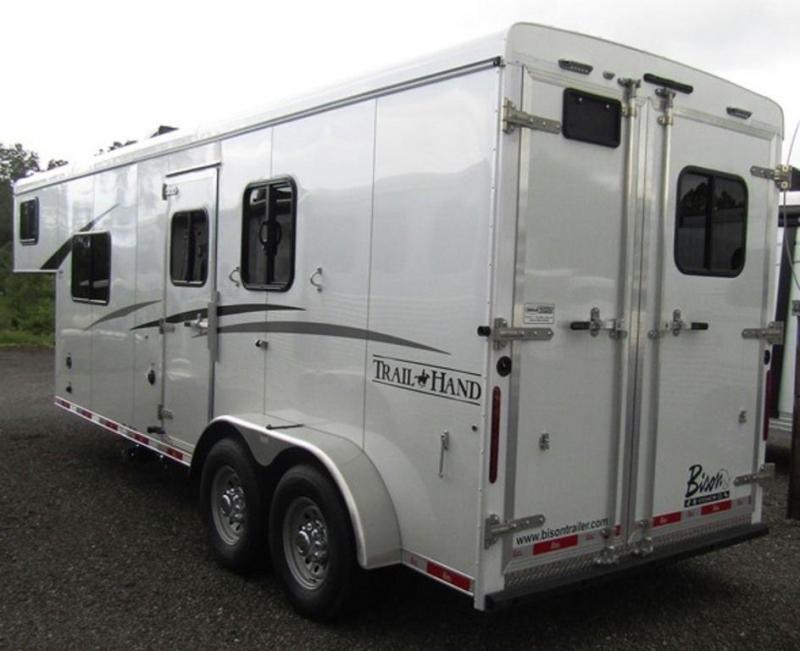 2019 Bison 7207 Trail Hand Horse Trailer