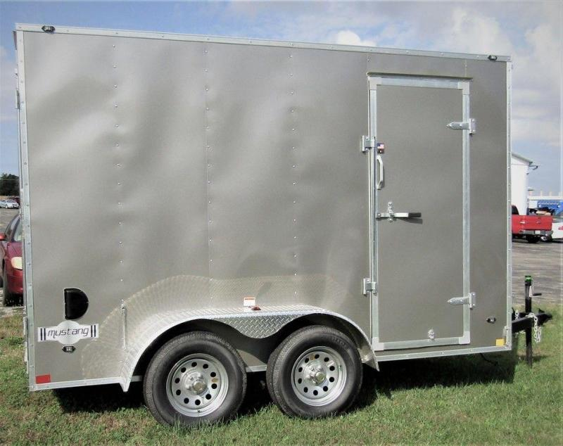 2019 Stealth Mustang SE 6 X 12 TA Enclosed Cargo Trailer