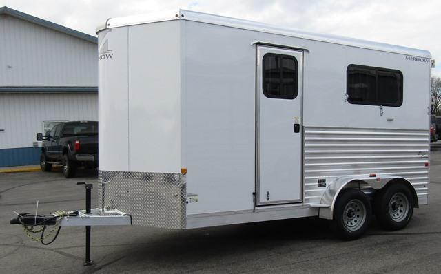 2019 Merhow Trailers Bronco Straight load Warmblood Horse Trailer