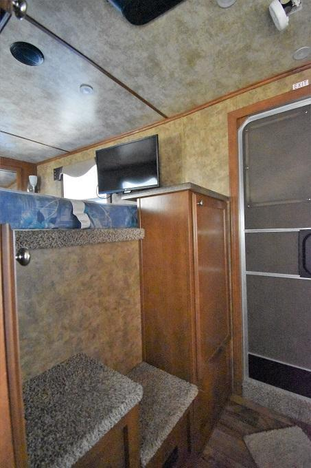 2017 Exiss Trailers Stock Combo Horse Trailer