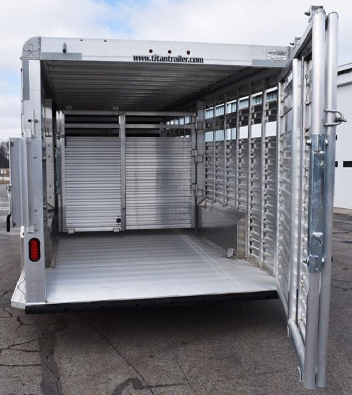 2019 Titan 20' Stock Trailer