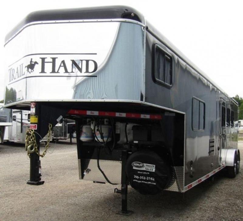 2019 Bison 7311 Trail Hand Horse Trailer