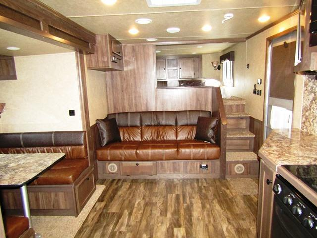 2019 Lakota Trailers 8315 Charger Front Sofa Floorplan Horse Trailer