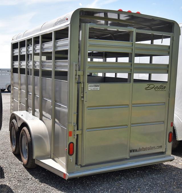 2020 Delta Manufacturing 500 Series Stock Horse Trailer