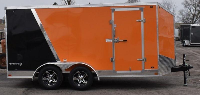 2020 Stealth Titan 7 x 14 Motorcycle Trailer in Ashburn, VA