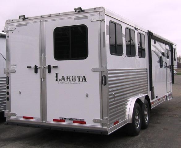 2019 Lakota Trailers 8309 Charger Horse Trailer