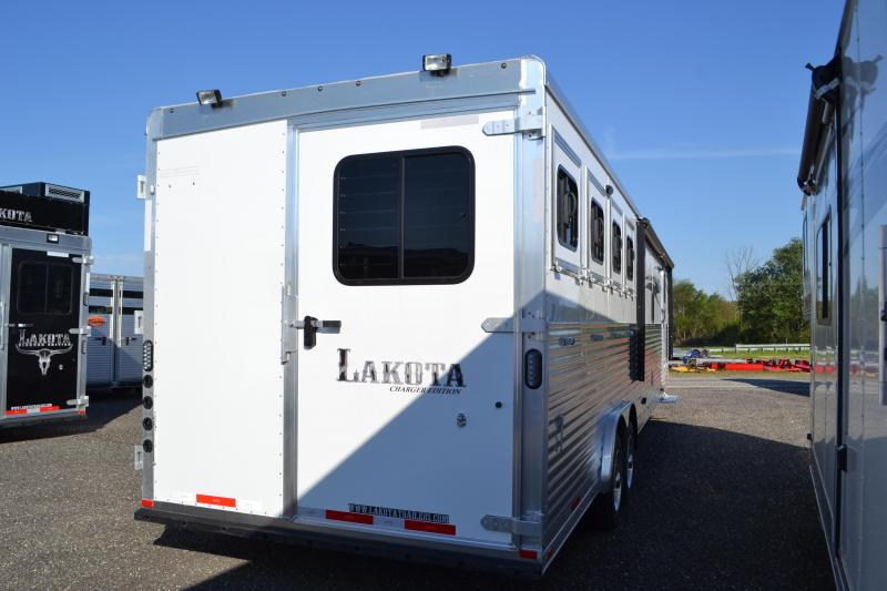 2018 Lakota Trailers Charger Horse Trailer
