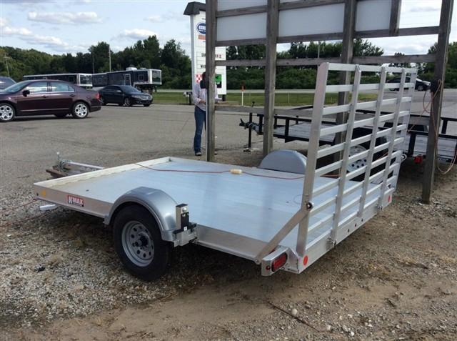 2013 Kiefer Manufacturing K-MAX 6.6x10 Utility Trailer