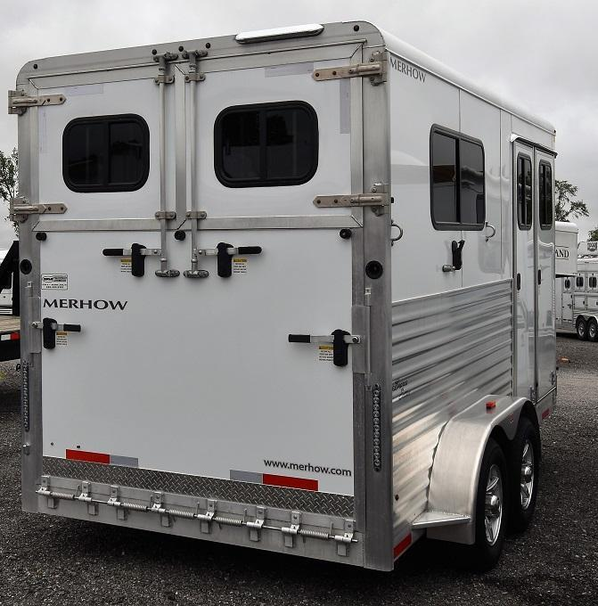 2019 Merhow Trailers Warmblood Bronco Horse Trailer
