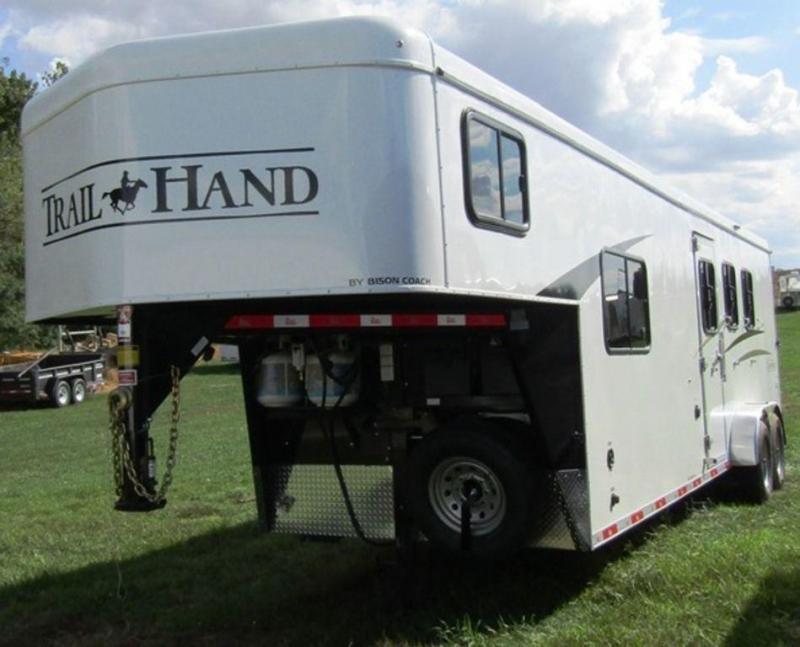 2019 Bison 7309 Trail Hand Horse Trailer