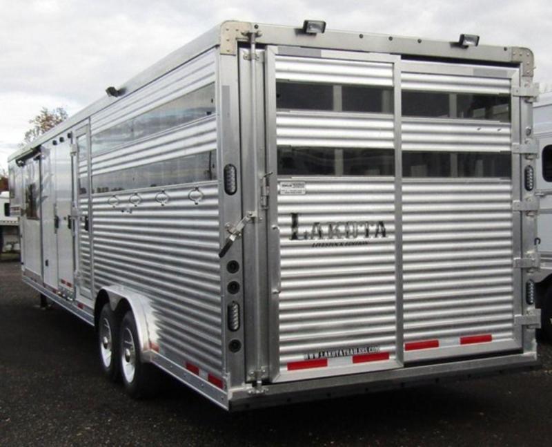 2019 Lakota Livestock Edition 81611 Combo Trailer
