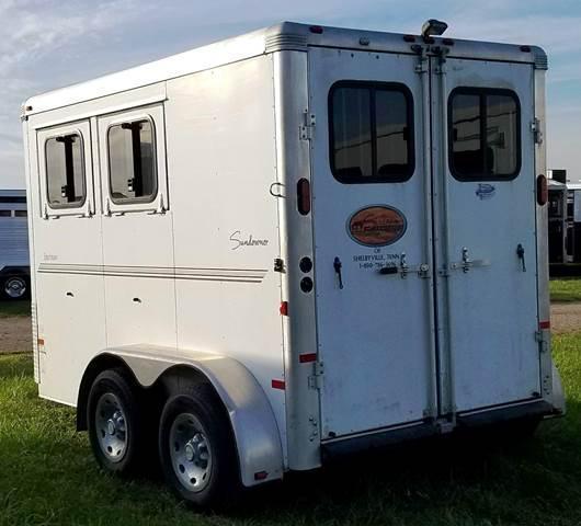 2011 Sundowner Trailers Sportman Horse Trailer