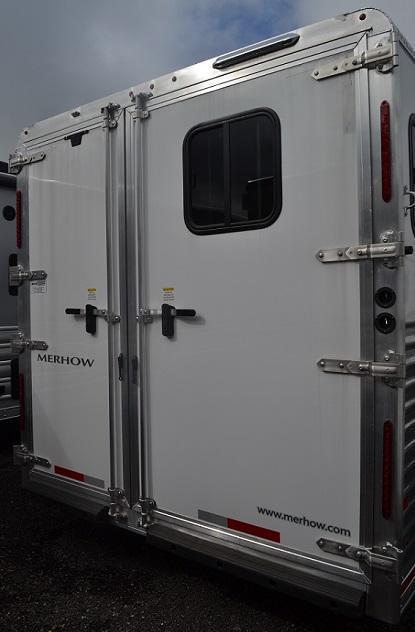 2017 Merhow Trailers AlumaStar Horse Trailer