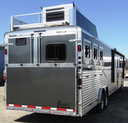 2015 Bison Trailers 8317 Premiere Horse Trailer
