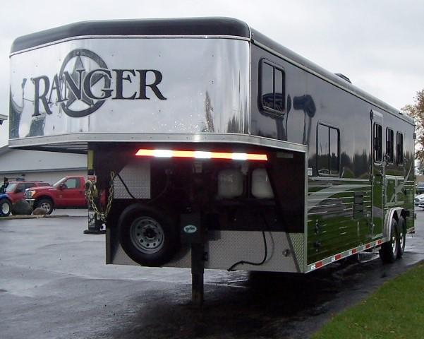 2015 Bison Trailers 8310 Ranger Horse Trailer