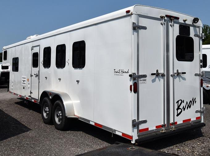 2014 Bison Trailers 7410 Trail Hand Horse Trailer