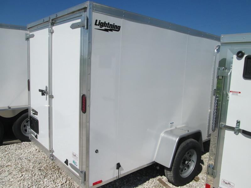2017 Lightning Trailers 6' Wide Flat Top LTF612SA