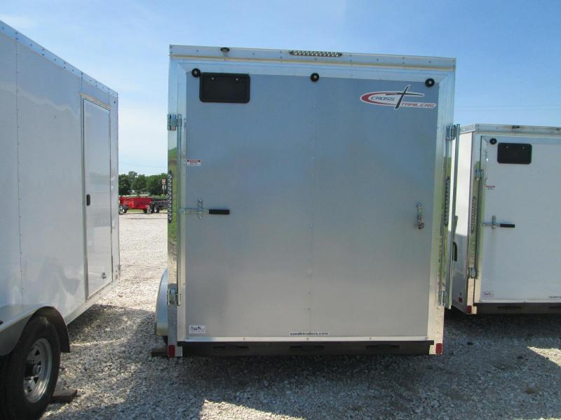 2019 Cross Trailers 7 x 18 TA Enclosed Cargo Trailer / Coming in Silver Color