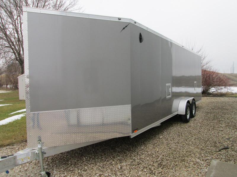 2019 Lightning Trailers LTFES724TA2 Snowmobile Trailer