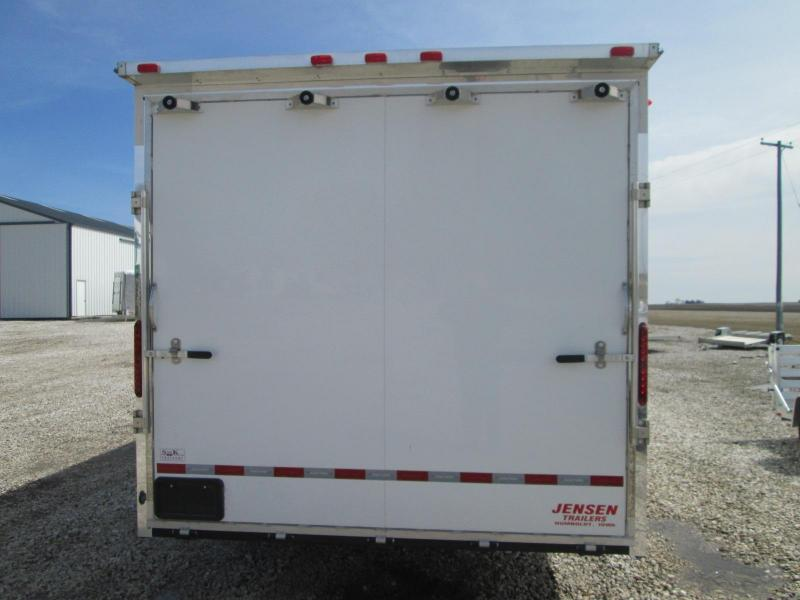 2013 Jensen  36' Gooseneck Enclosed Cargo Trailer