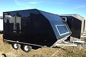 2020 Lightning Trailers LTA813TA Snowmobile Trailer
