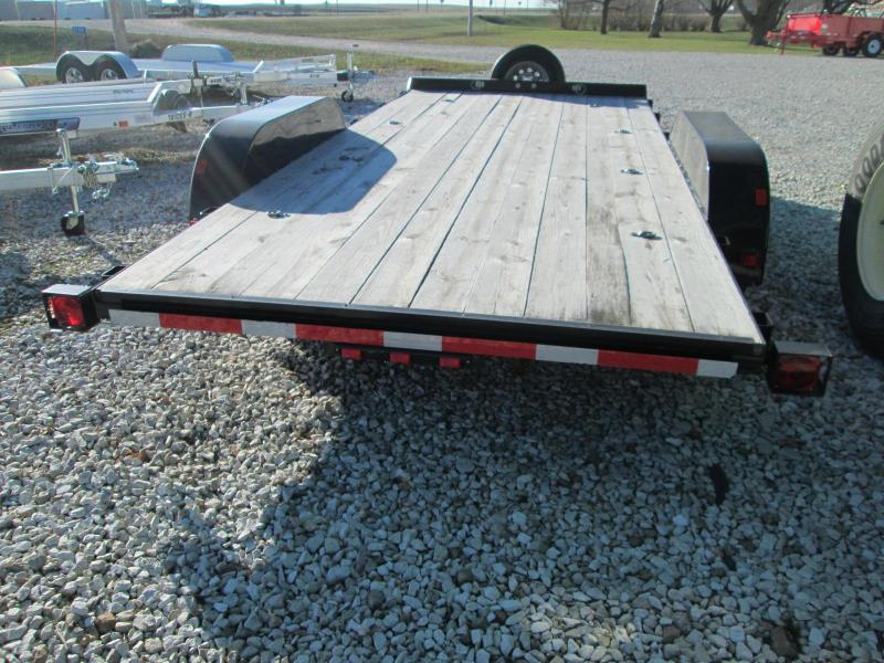 2017 Finish Line E-CH6 82/16 - 82 X 16 Equipment Trailer