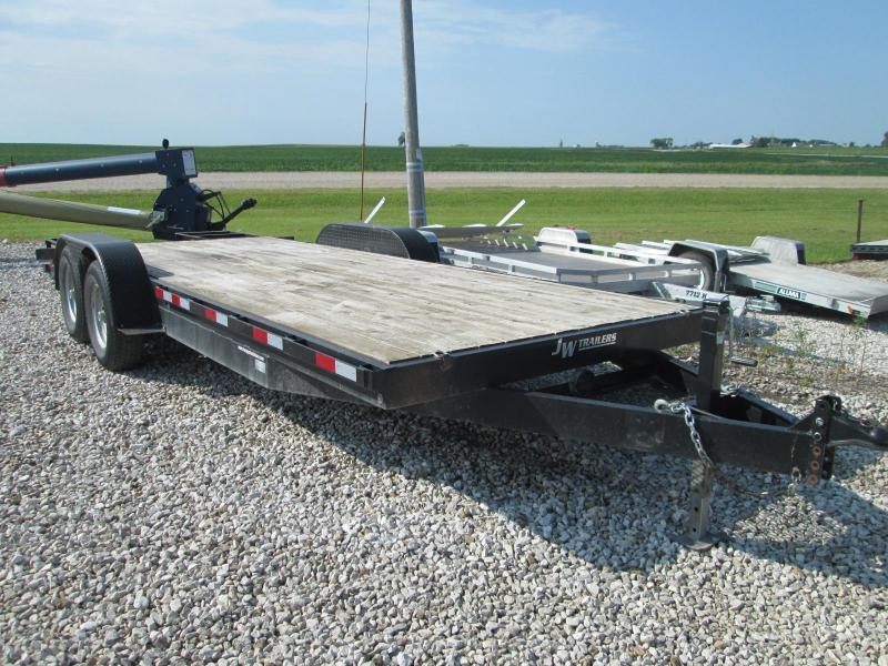2012  J W 21 Equipment Trailer Equipment Trailer