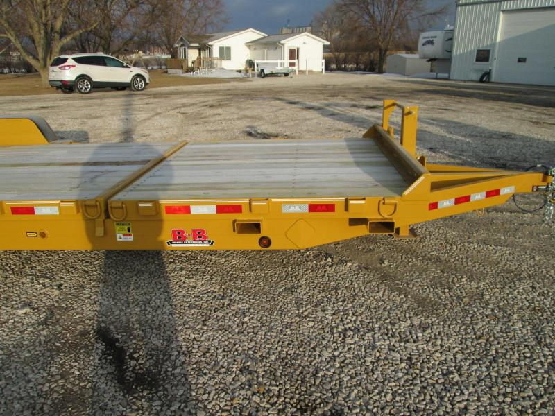2019 B-B TBCT2414ET-XL Equipment Trailer