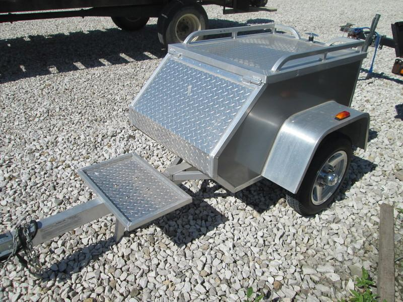 2004 Aluma MCT Motorcycle Trailer