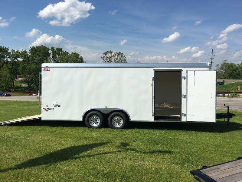 2019 American Hauler Industries Falcon XC 8.5 x 20 Tandem Enclosed Cargo Trailer