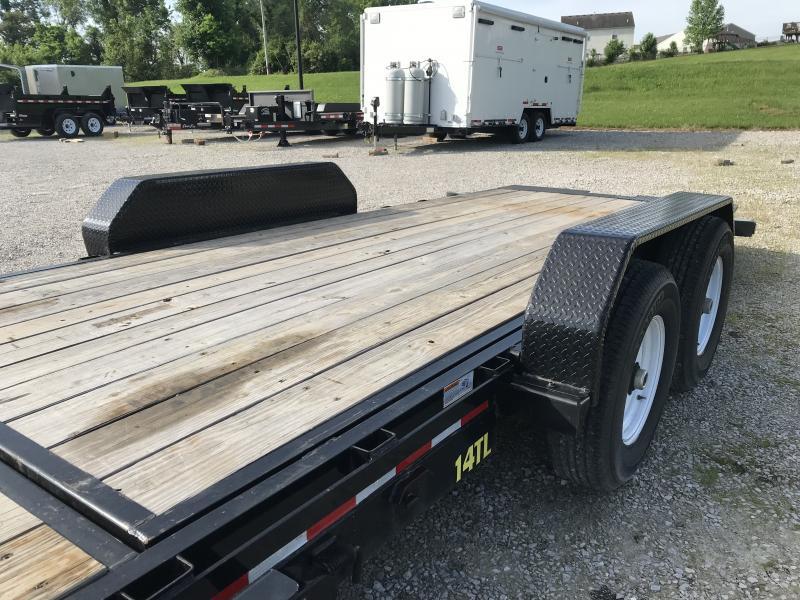 2018 Big Tex Trailers 14TL 22BK Equipment Trailer