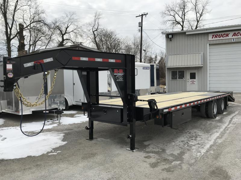 2019 B-B Equipment 102 x 22 5 GooseneckTrailer