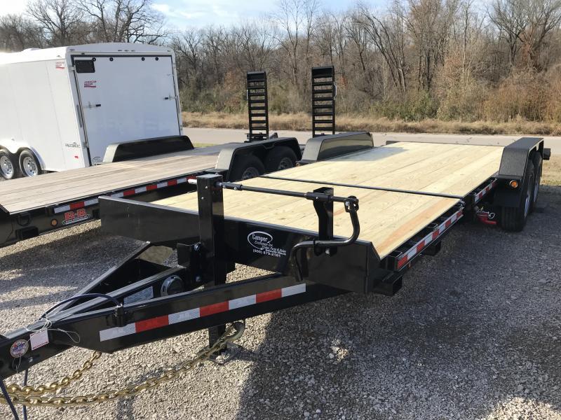 2019 B-B 83 x 22 Equipment Tilt Trailer