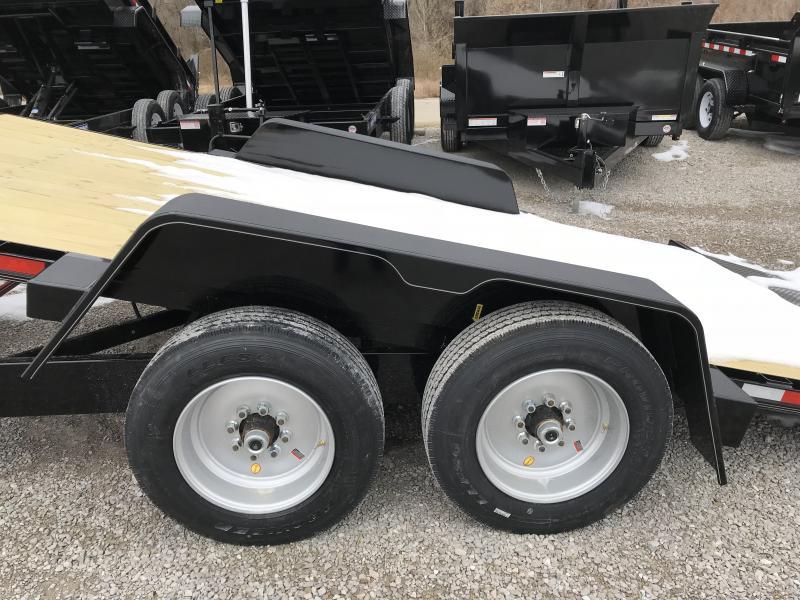 2019 B-B Tilt 83 x 22 Equipment Trailer