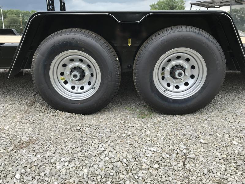 2018 B-B 83 x 20 Equipment Trailer