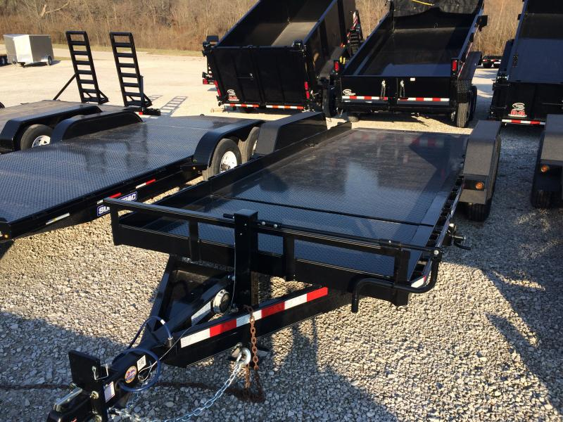 2018 B-B Tilt Trailer Equipment Trailer